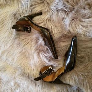 Kenneth Cole ankle strap stilettos